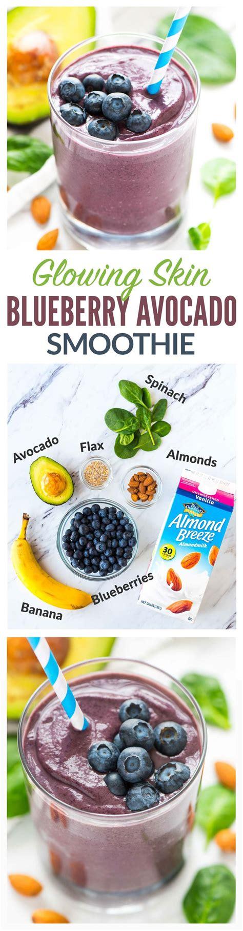 Blueberry Avocado Detox Smoothie by 100 Green Smoothie Recipes On Green Smoothies