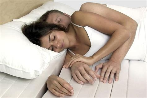 How To Cuddle With A In Bed by The Cuddle Mattress Which Lets You Snuggle Comfortably