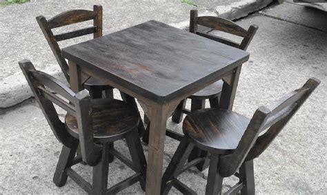 mesas y sillas para bar sillas y mesas para bar restaurante nuevos 185 000 en