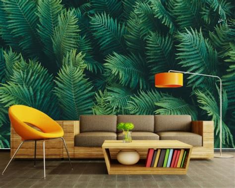 Wallpaper Dinding Warna Hijau Toska Bunga Mawar kombinasi warna cat rumah hijau kuning nature green