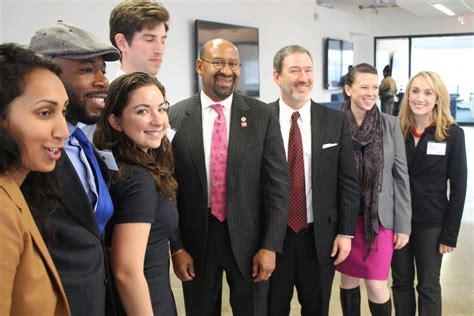 Wharton Mba News by Mayor Recognizes Wharton Social Impact Initiative At