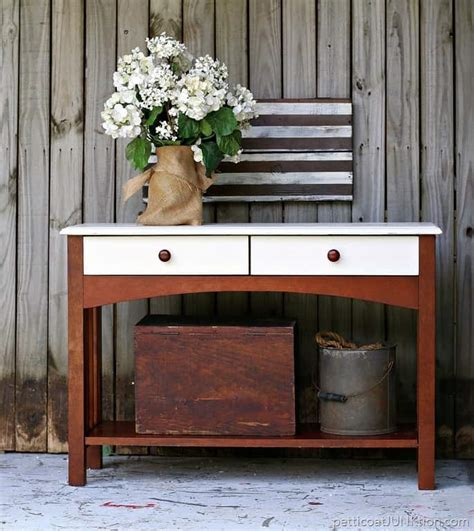 west elm sofa table west elm inspired sofa table project petticoat junktion