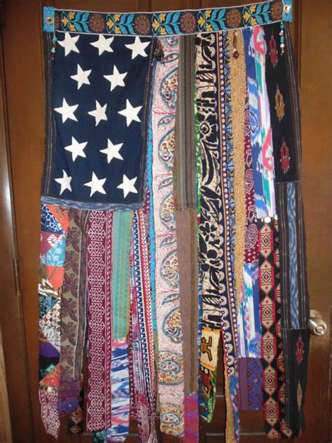 large beaded curtains large beaded colorful bohemian ethnic banner door wall
