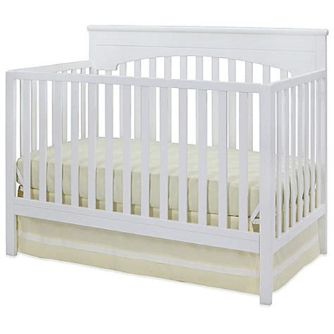 Delta Layla 4 In 1 Convertible Crib In White Buybuy Baby White 4 In 1 Convertible Crib