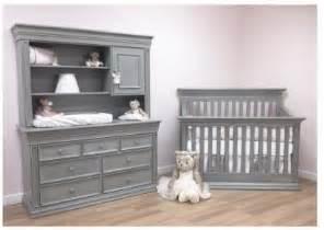 Grey Toddler Bed And Dresser Babys Legendary Flat Top Stationary Crib Vintage