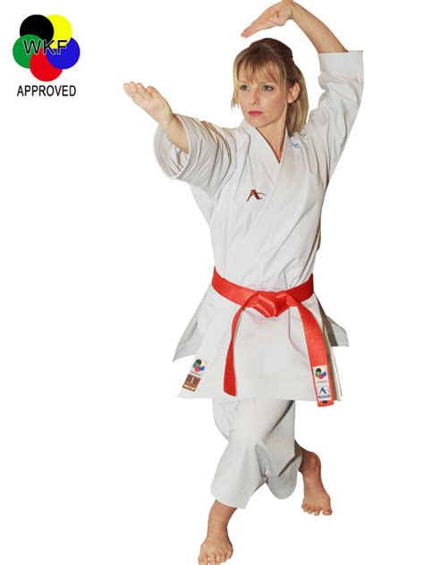 Arawaza Karategi Deluxe Karate Wkf Approved Original arawaza evolution wkf kata gi sports ltd