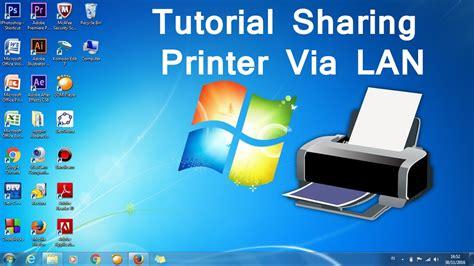 tutorial hack jaringan lan tutorial share printer via jaringan lan