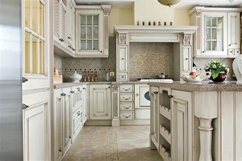 kitchens with antique white cabinets antique white kitchen cabinets design photos designing