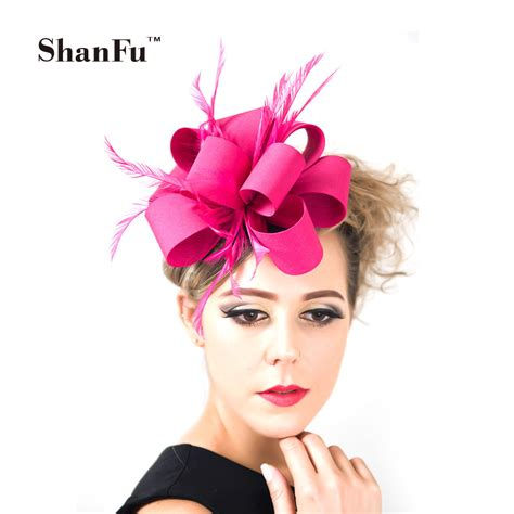 Handmade Fascinators - aliexpress buy shanfu fashion fascinator