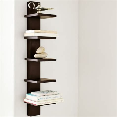 Spine Wall Shelf by Spine Wall Shelf West Elm