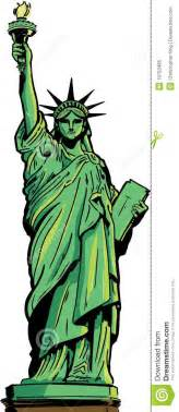 statue of liberty drawing template statue of liberty royalty free stock photo image 19753485