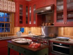 Red kitchen accents