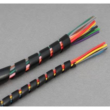 Selang 8mm spiral pembungkus kabel listrik selang ukuran 8mm x 10 5m