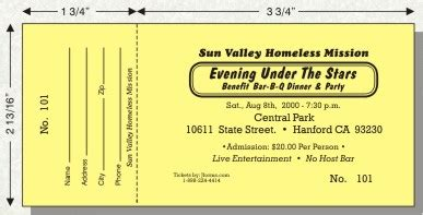 fundraising ticket template 7 best images of free printable fundraiser tickets free