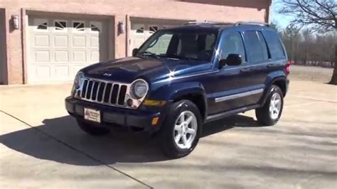 jeep limited 2006 hd 2006 jeep liberty limited 4x4 used for sale see