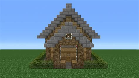 smallest minecraft house minecraft tutorial how to make a small survival house youtube
