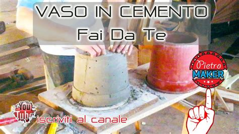 costruire vasi in cemento fai da te come fare uno sto per vasi in cemento