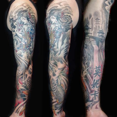 full sleeve tattoos designs japanese japanese images designs