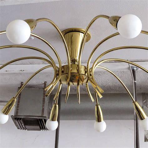 flush mount sputnik light twelve light sputnik flush mount light at 1stdibs