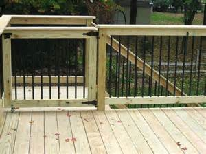 Porch Gate Home Depot by Sliding Deck Gate Ideas Deck Design And Ideas