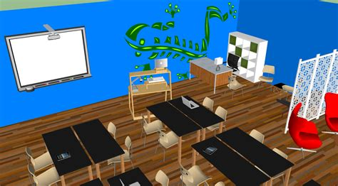 classroom layout 21st century sketchup raystuckey