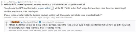 elon musk reddit ama the best answers from elon musk s reddit ama about the bfr