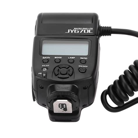 Special Flash Viltrox Jy620c For Canon E Ttl viltrox jy 670c on e ttl macro up fill in led