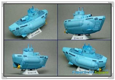 Submarine Papercraft - anime submarine papercraft uboatanime submarine papercraft