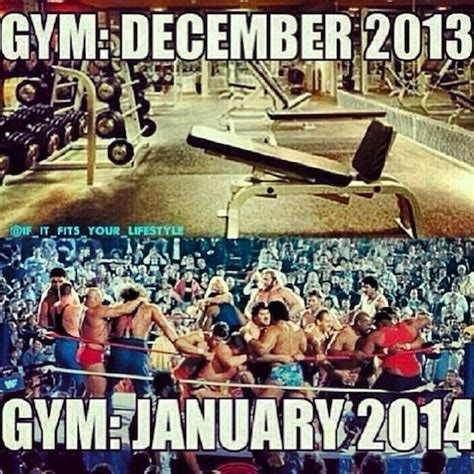 New Years Gym Meme - the new years resolution gym goers are coming prepare yourself