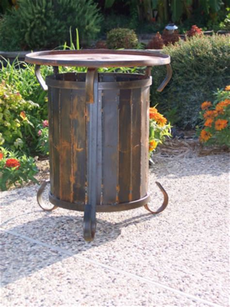 propane tank chiminea propane tank cover table