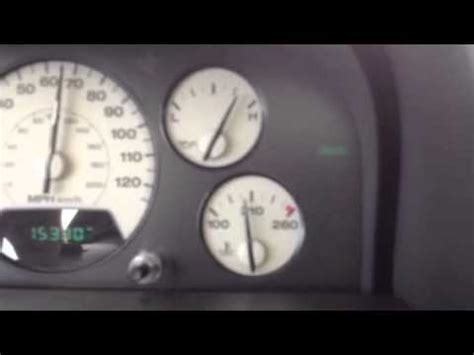 Check Gages Jeep Jeep 2002 Wj Intermittent Voltmeter And Check Gages