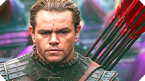 film terbaru matt damon 2017 the great wall matt damon 2017 trailer 2 youtube