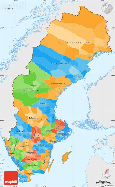 political map of scandinavia political map of sweden related keywords political map