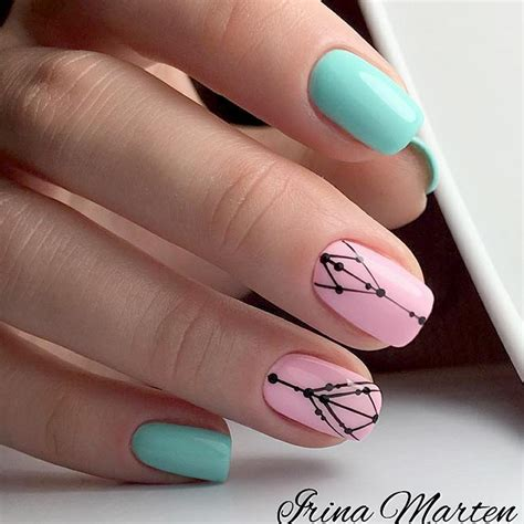 mint color nails 36 fantastic summer nails colors to try