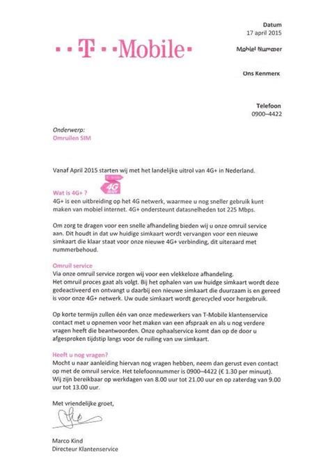T Mobile Letter Of Credit T Mobile Warns Of Letter About Sim Card Fraud Help Desk Fraud Help Desk