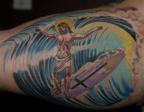 surfer tattoo 10 seriously strange surf tattoos mpora
