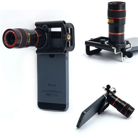 Iphone Zoom Lens by 8x Zoom Telephoto Telescope Lens Phone Clip For Various Cell Phone Iphone Ebay
