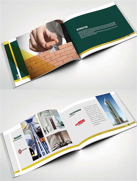 Construction Brochure Template by 17 Top Construction Company Brochure Templates Free