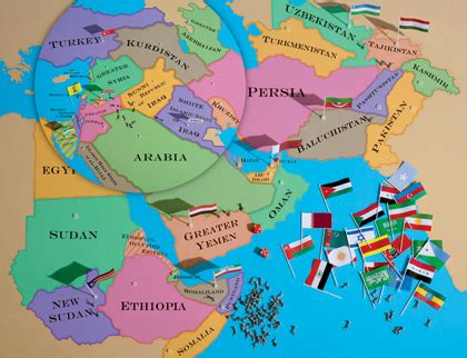 middle east map in 2020 after iraq the atlantic