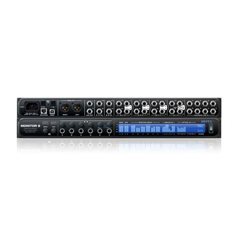Mixer Monitor Audio 8 Chanel motu monitor 8 monitor mix cuffie interfaccia