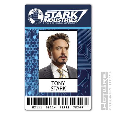bond id card template plastic id card tv prop tony stark iron