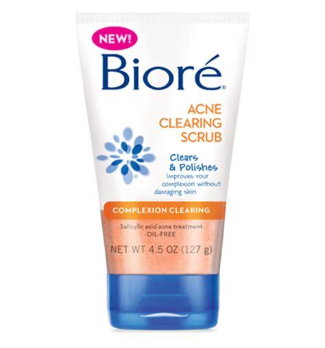 S Biore Scrub fitness for the rest of us biore acne clearing scrub