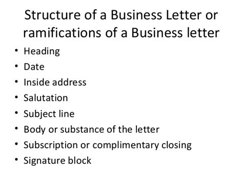 business letter with subject heading business letter with subject heading 28 images ppt on