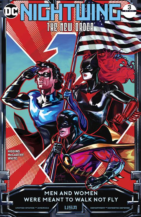 The New Order aug170297 nightwing the new order 3 of 6 previews world