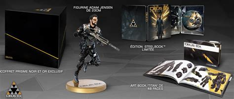 Deus Ex Mankind Divided Collector Edition Statue deus ex mankind divided 233 dition collector steelbook artbook ps4 xbox one pc
