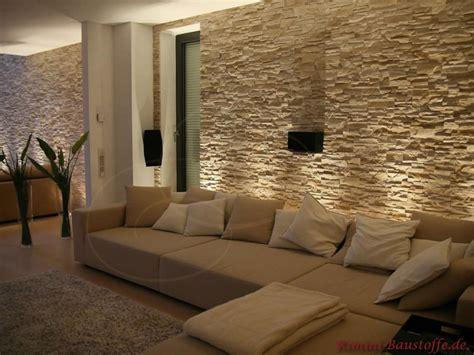 wohnzimmer mit steinwand wohnzimmer mediterraner hausbau