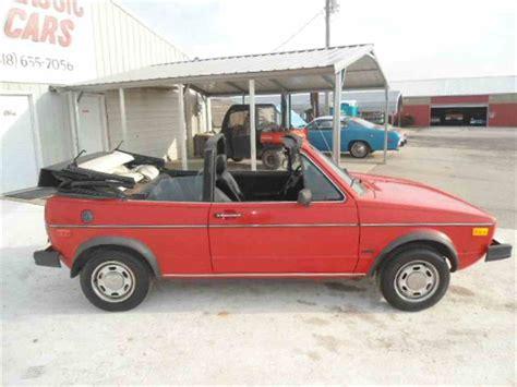 Rabbit Volkswagen For Sale by 1985 Volkswagen Rabbit For Sale Classiccars Cc 938630