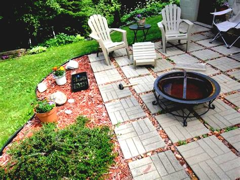 diy backyard patio diy concrete patio ideas floor outside flooring easy