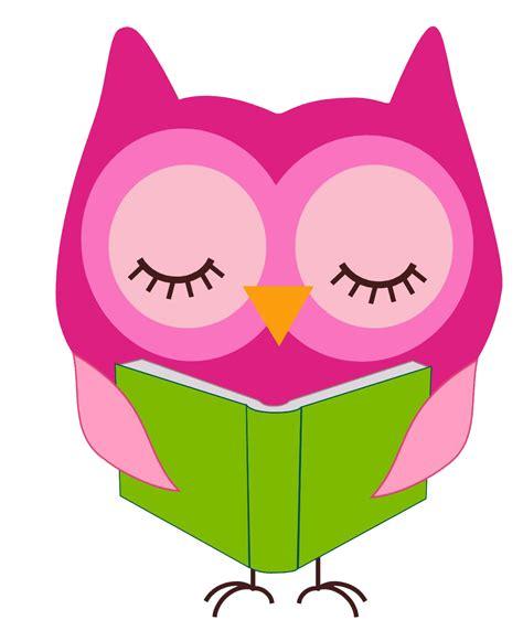 owl reading book owl reading clip art cliparts co