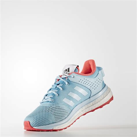 adidas response 3 womens blue running road sports shoes